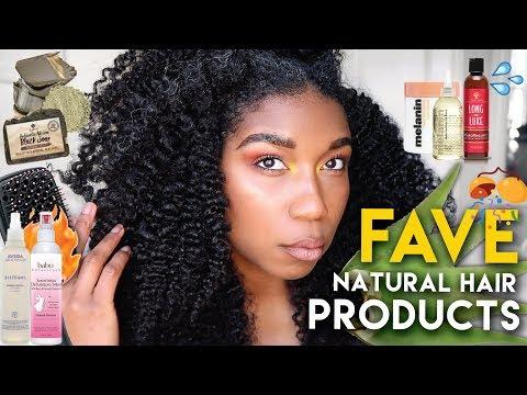 My Favorite Natural Hair Products 2018! Naptural85