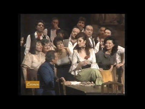 Carmen / Act 1/ Ankara State Opera And Ballet / 1989