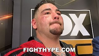 ANDY RUIZ PUTS ANTHONY JOSHUA ON NOTICE; IN TALKS TO STEP IN ON JUNE 1 FRESH OFF TKO WIN