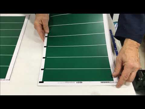 Laminating Paper Stock for business cards and invitation production