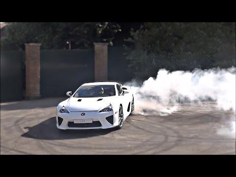 4 minutes of Lexus LFA MADNESS!!