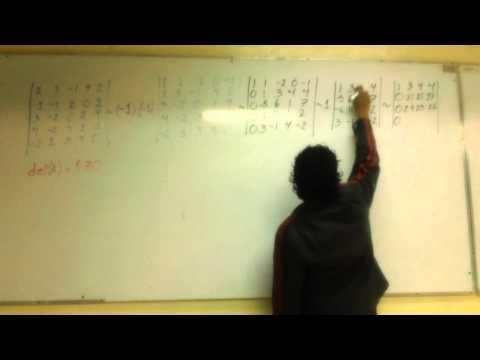 determinant of 5x5 matrix pdf