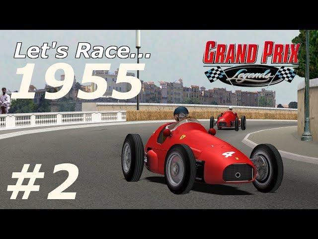 1955 F1 R02 Monaco Grand Prix - Grand Prix Legends