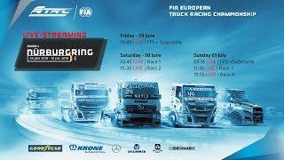 FIA European Truck Racing Championship 2018 #3 Nürburgring - Race 3