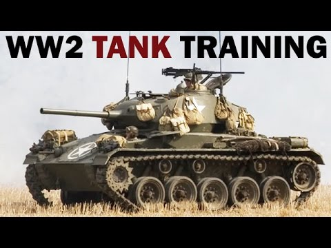 WW2 Tank Crew Training Film | Security on the March | 1943
