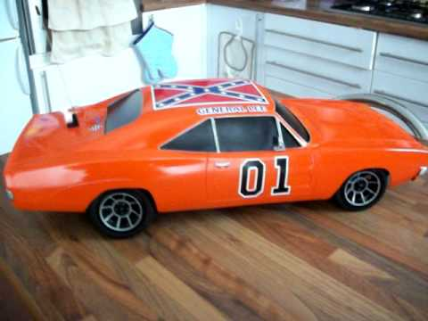 Rc General Lee Dukes Of Hazzard 1 10 Scale Youtube