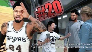 NBA 2k18 MyCAREER - 1st Game as Starter! B-Fresh Has Everyone Heated! Ep. 20