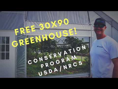 MASSIVE GREENHOUSE FOR FREE! (Through Government Program)