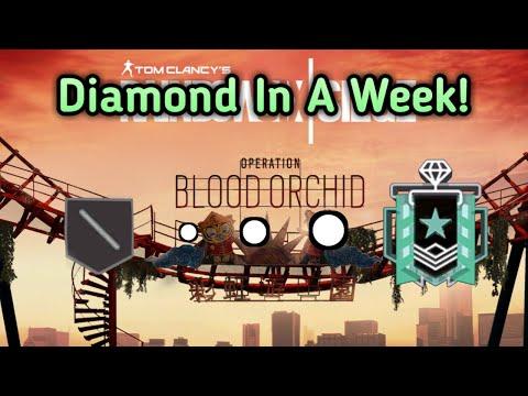 Getting Diamond! : Xbox Diamond - Ranked Highlights - Rainbow Six Siege Gameplay