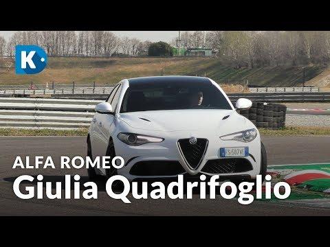 Alfa Romeo Giulia Quadrifoglio | 510 CV Di Furia Ed Eleganza!