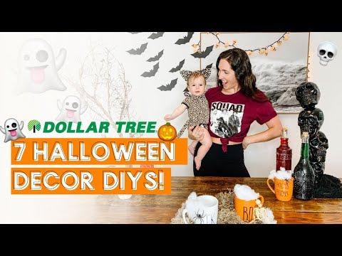 7 Dollar Tree Halloween Decor DIY Hacks
