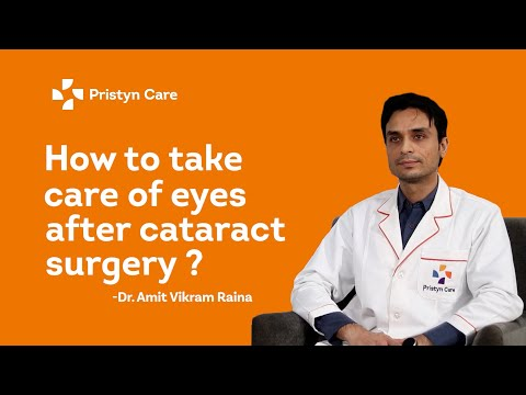 How To Take Care Of Eyes After Cataract Surgery | Best Eye Care Centre | Pristyn Care