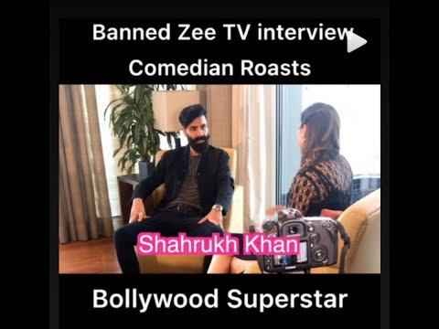 Banned Zee TV Interview