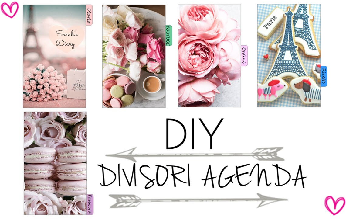 Top DIY DIVIDERS FILOFAX || TUTORIAL DIVISORI AGENDA #2 - YouTube YN86
