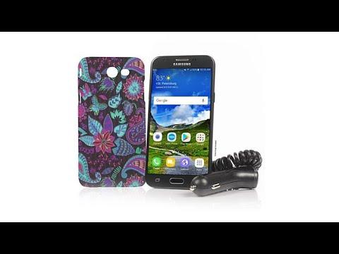 "Samsung Galaxy 5"" 16GB TracFone + 1200 Min/Text/Data"