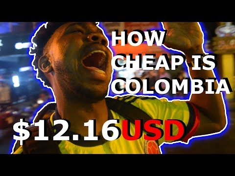 Cost of living in Colombia Medellin