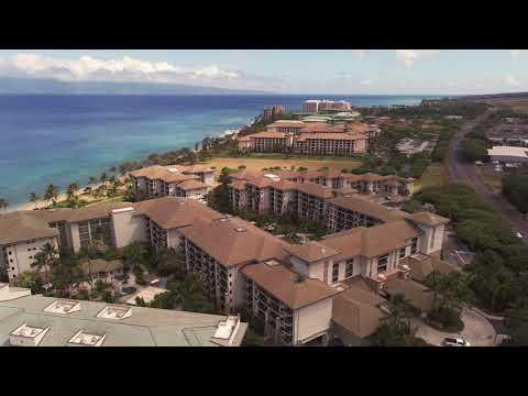 The Westin Ka'anapali Ocean Resort Villas drone flight with the new DJI Mavic Air 2