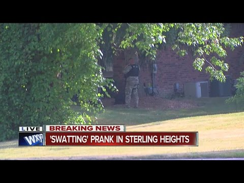 Swatting prank in Sterling Heights