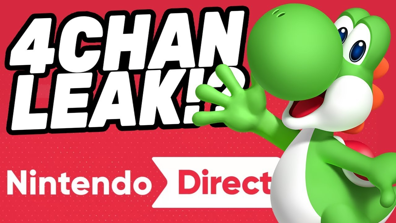 Nintendo Direct 4CHAN LEAK! - Is It Real?