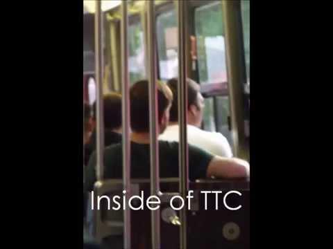 Inside of TTC - Toronto