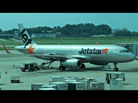 Jetstar Asia Flight Experience: 3K520 Bangkok to Singapore