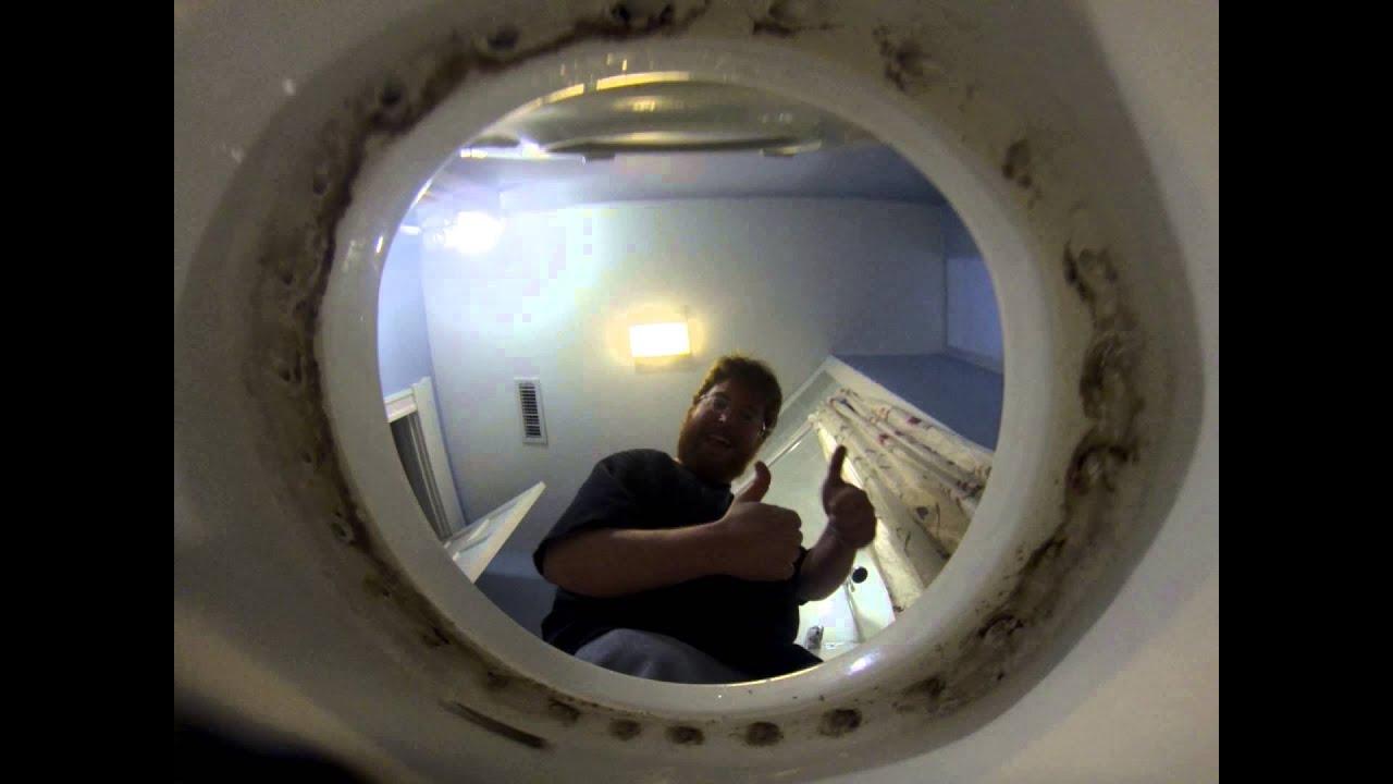 Hidden cam wc