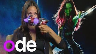 Guardians of the Galaxy: Laser Quest-ions game with the cast