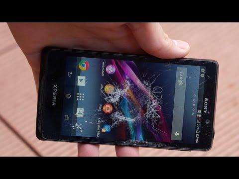 Sony Xperia T Water/Wasser & Display Damage/Zerstörung Test
