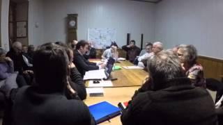 Conseil Municipal Saint Saturnin de Lenne 14/01/2016 - Vidéo 1/9
