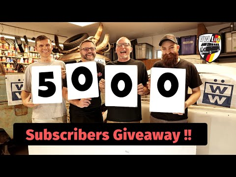 5,000 Subscribers Giveaway & Unboxing!!!
