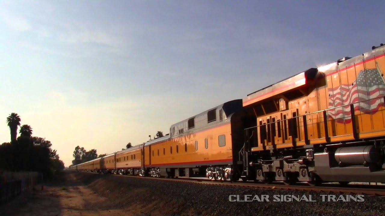Union Pacific Passenger Business Train Youtube