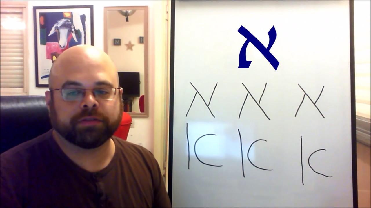 Hebrew calligraphy תורה letters