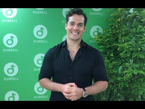 Exclusive: Henry Cavill  At The Durrell Challenge 2018