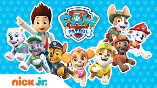 How Many PAW Patrol Friends Can You Name in 2 Minutes? Ft. Chase, Chickaletta, & More! | Nick Jr.