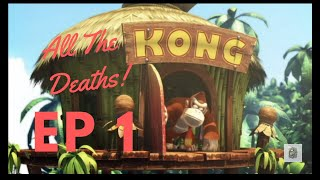 Donkey Kong Country Returns Ep 1 - 99 Red Balloons... Lost By Brandon - F+LOP