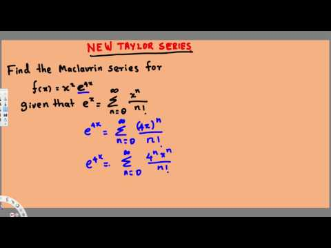Finding a New Power Series by Manipulating a Known Power Series - Integral Calculus