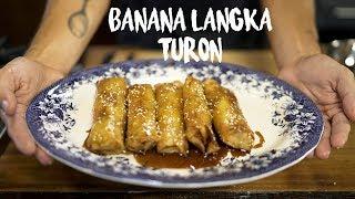 Banana and Jackfruit Spring Rolls (Tasty Filipino Dessert)