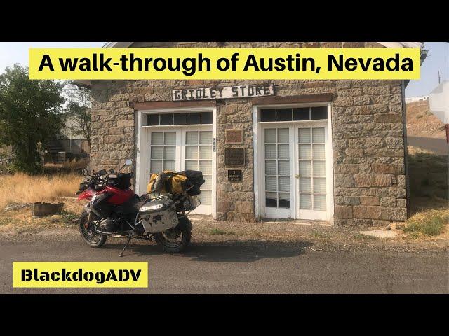 I walk through Austin Nevada