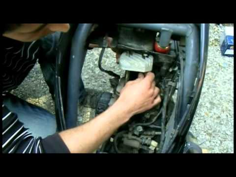 Как сделать тюнинг цилиндро поршневой группы, ЦПГ скутера Honda dio (разборка) (4 часть)