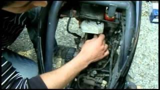 Как сделать тюнинг цилиндро-поршневой группы, ЦПГ скутера Honda dio (разборка) (4 часть)