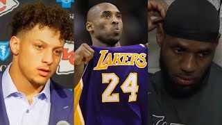 Sports World REACTS To Shocking Death Of Kobe Bryant & His Daughter... RIP MAMBA!!!