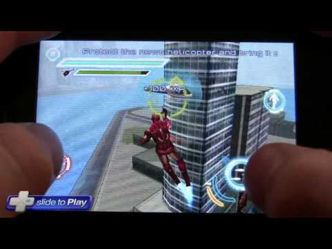 Iron Man 2 IPhone Game Hands-On Gameplay Video