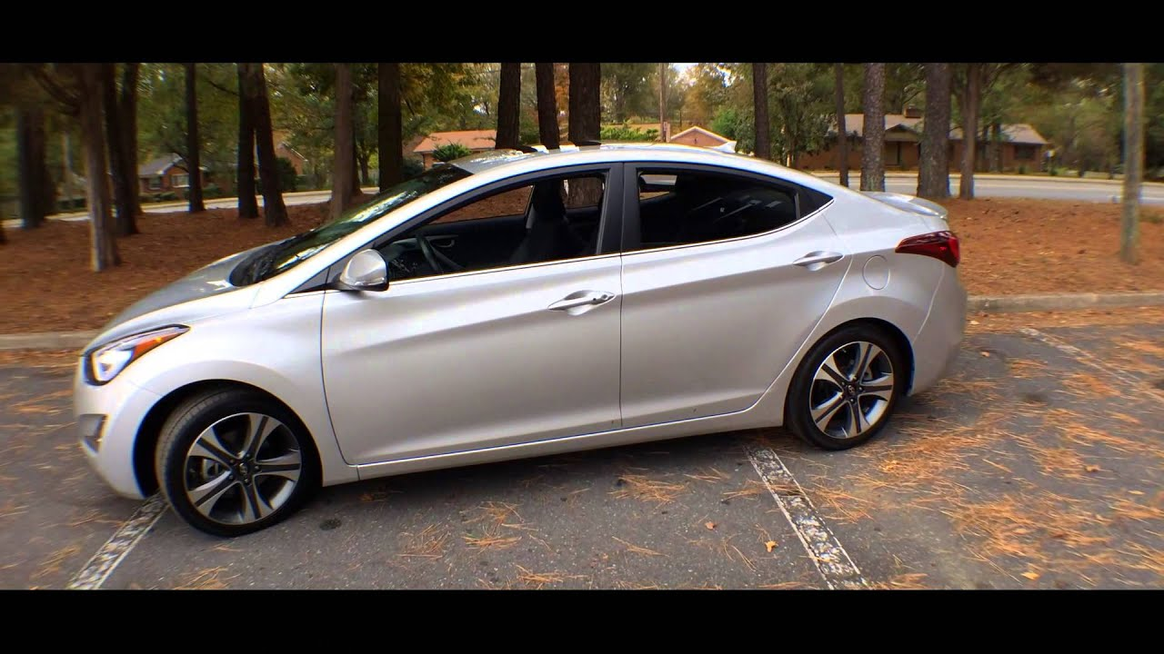 Best Detailed Walkaround 2014 Hyundai Elantra Sport Youtube