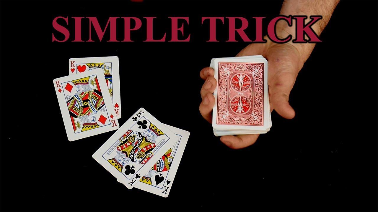 easy card tricks to impress friends magic tutorial  youtube