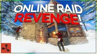 REVENGE ONLINE RAID ON CLAN! (TRIO VANILLA RUST #2 S4)