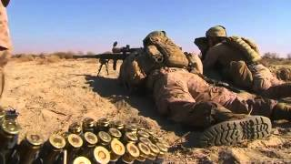 Marine Sniper Engages Taliban Foot Solider!