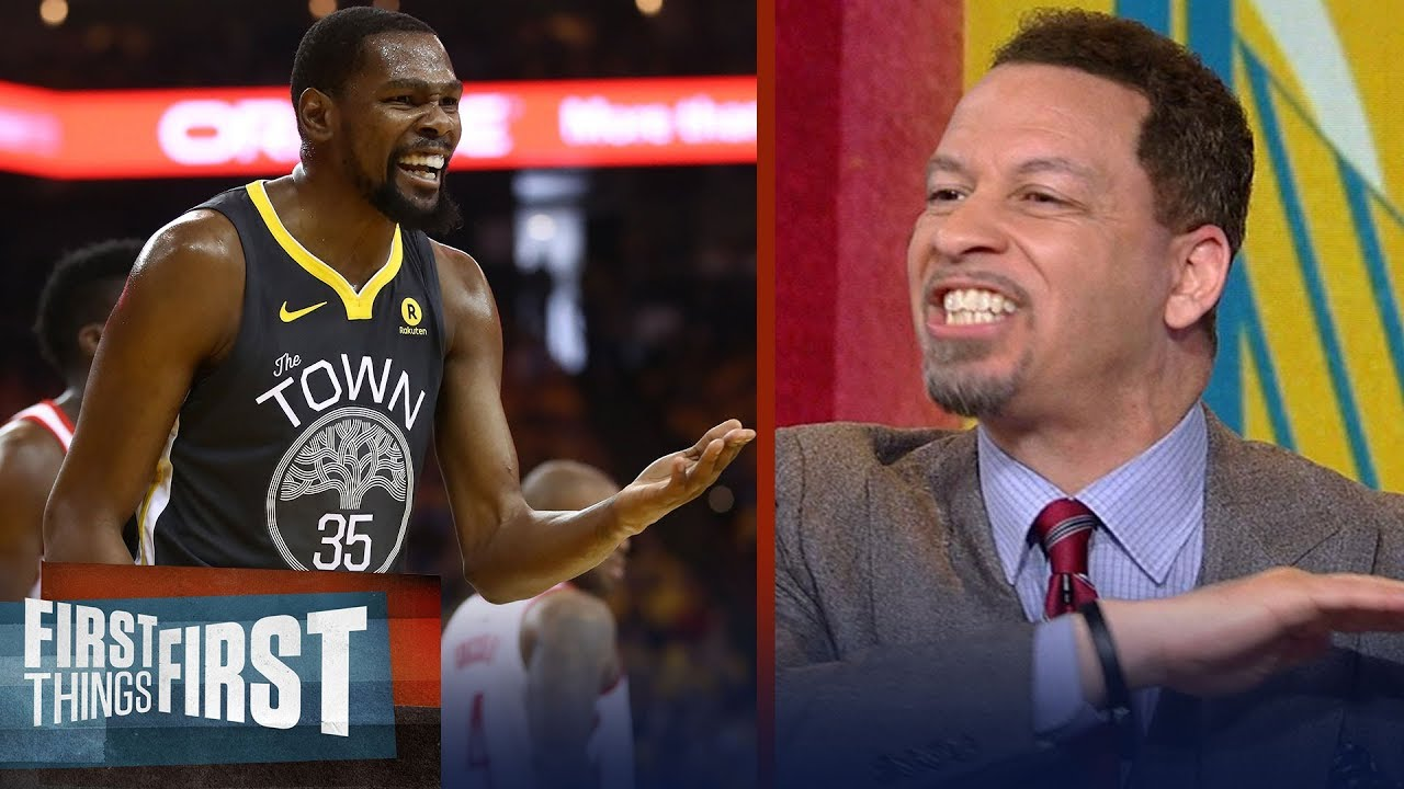 c8bf21b1cac5 Chris Broussard blames Kevin Durant for failing Warriors in Rockets  win