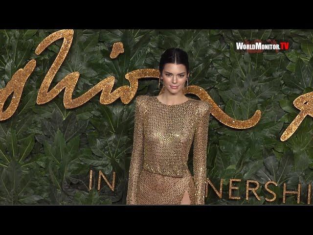 חדשות האופנה: כשקנדל ג'נר קברה לכולן בטקס פרסי האופנה הבריטי