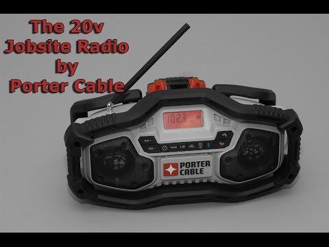 20v Porter Cable Jobsite Radio