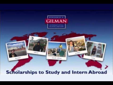 Gilman scholarship essay